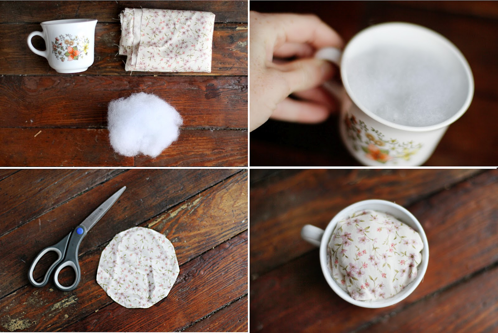 Sincerely, Kinsey: Teacup Pin Cushion DIY
