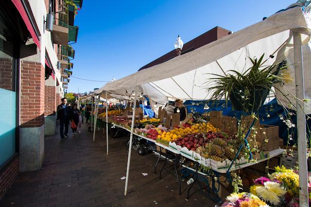 Mercato alimentare-Boston