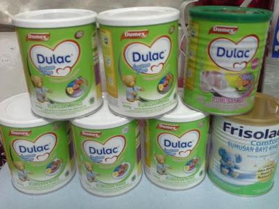 susu frisolac comfort untuk bayi yang sukar membuang air besar dan baby colic dan bayi yang selalu kembung perut