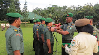 Dandim 0615 /Kuningan Letkol Inf Daru Cahyadi Soeprapto S.Sos MM