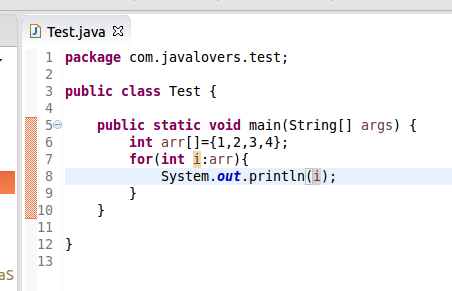 Tech Jagran Enhance For Loop In Java Part 1