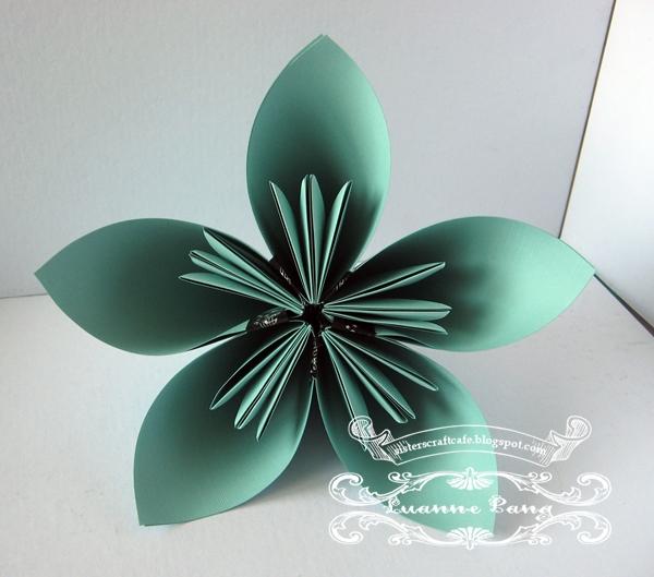 3d Origami Flower Tutorial Flores De Mayo