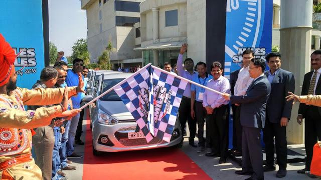 Hyundai India Organizes The 'Miles and Smiles Rally'