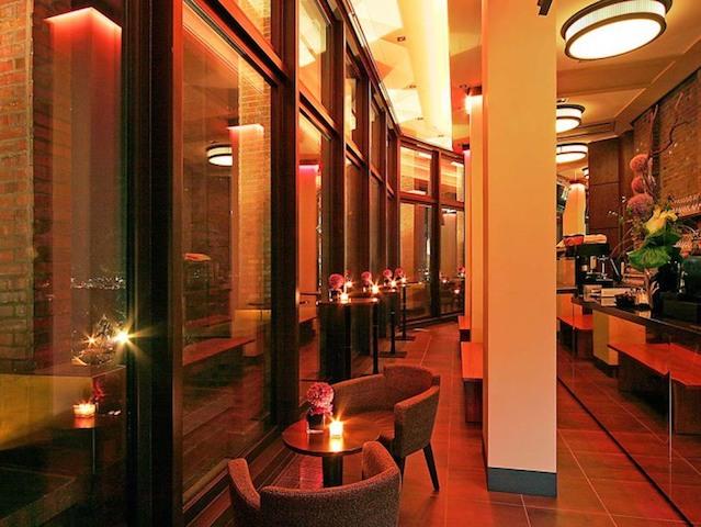 Café do Panorama Punkt em Berlim