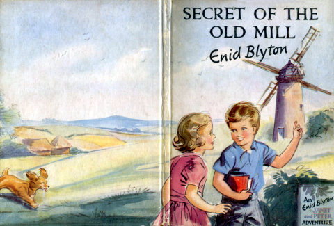 Enid Blyton Secret of the old mill
