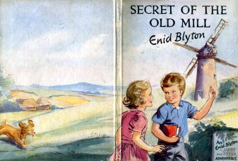 Enid Blyton Secret of the old mill