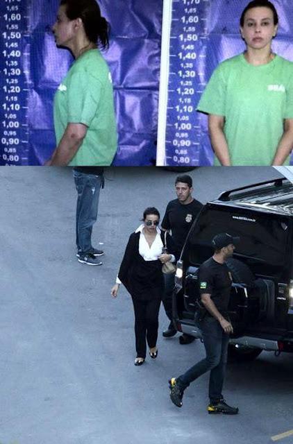 MILIONÁRIA PRESA - RECEBE ADVOGADOS NA PRISÃO APÓS TER LIBERDADE NEGADA PELA JUSTIÇA