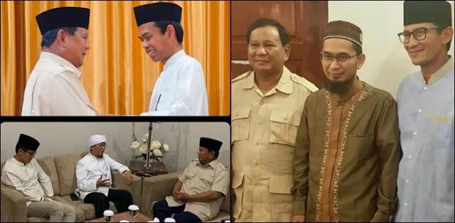 3 Ulama Kondang Beri Dukungan, Yakin Prabowo – Sandi Menang