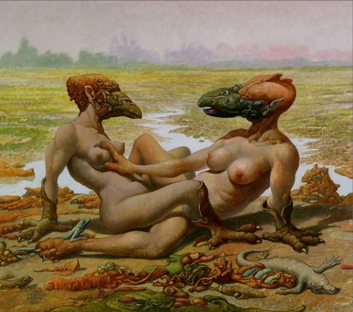 Фигуративные картины. Ivan Stratiev