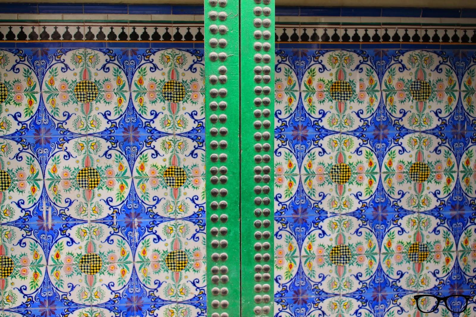 Azulejos azules