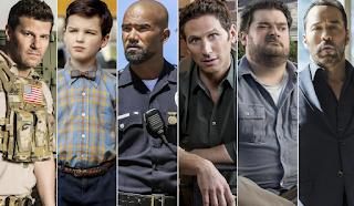 CBS New Fall Lineup All Stars Men