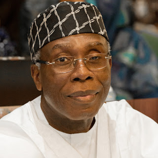 Minister of Agriculture and Rural Development, Audu Ogbeh
