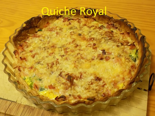 Quiche Royal