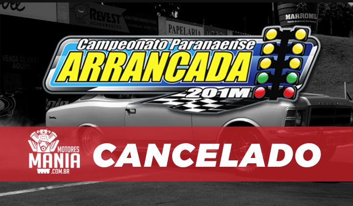 Última etapa do Campeonato Paranaense de Arrancada é cancelado