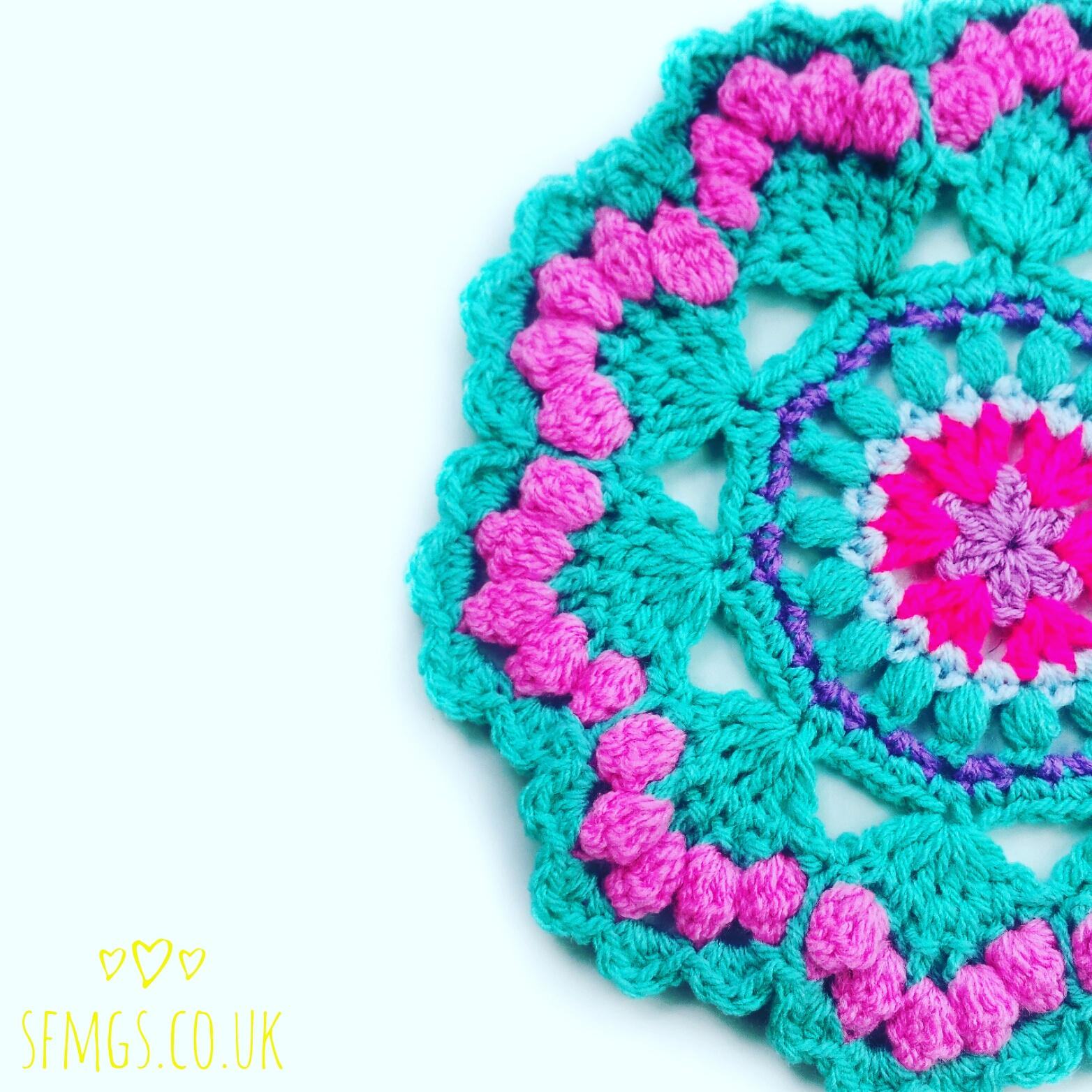 free mandala crochet pattern mermaid