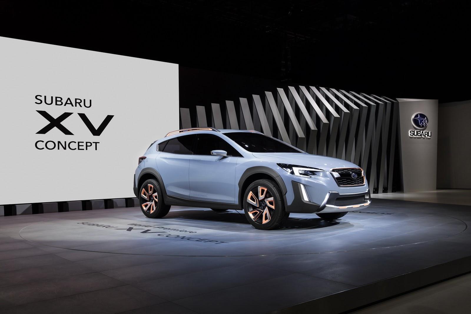 Subaru XV Concept 2016