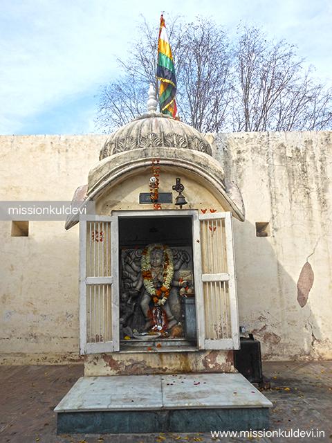 Bhairav Nath atRajrajeshwari Mata Temple Jaipur