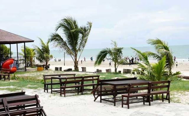 Pantai Kemala di Balikpapan