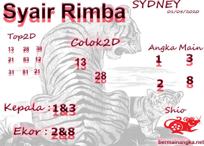Kode syair Sydney Sabtu 1 Agustus 2020 241