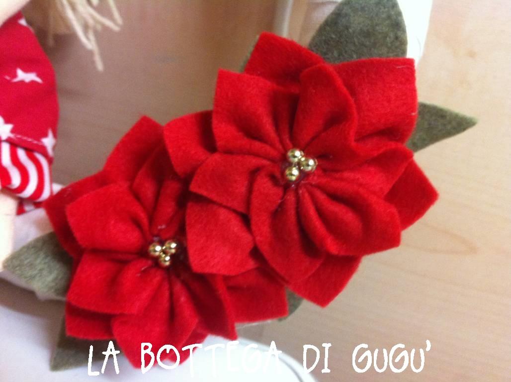 Molto La bottega di Gugù: Come fare le stelle di Natale con il pannolenci LA94