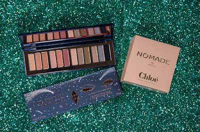 Charlotte Tilbury Starry Eyes to Hypnotise Eyeshadow and Chloe Nomade Perfume