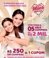 Promoção Shopping Park Sul Dia das Mães 2019 - 5 Vales Compras 2 Mil Reais