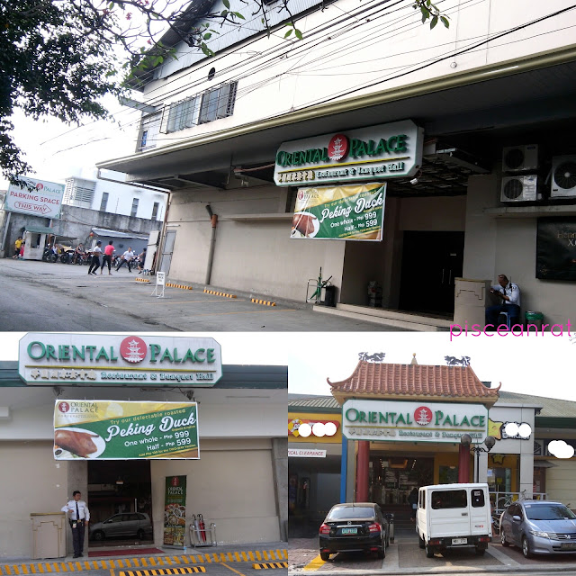 Oriental Palace is located in 148 Tomas Morato Ave. cor Scout Gandia, cor. Scout De Guia St., Quezon City, Philippines.