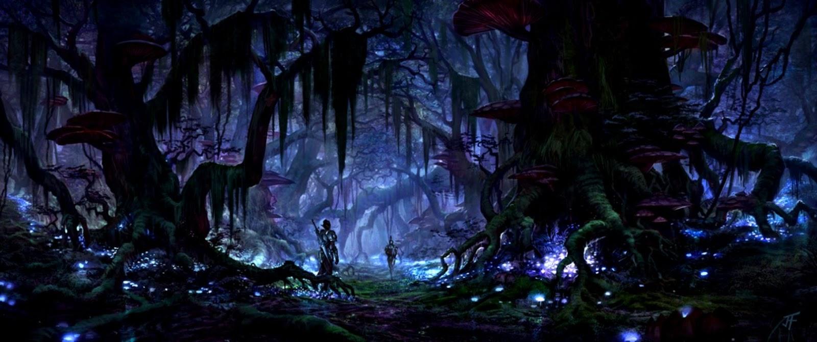 The Elder Scrolls Online Black Marsh Screen Hd Wallpaper