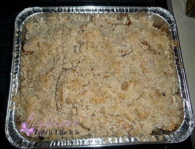 recipe, desert, apple crisp, gluten free,