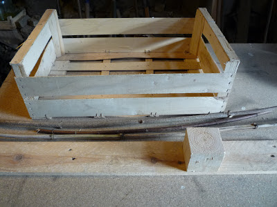 using fruit crate wood for carpentry