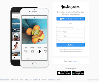 Instagram merupakan sebuah aplikasi yang dipakai untuk membuatkan foto dan video Cara Daftar Instagram Di Komputer