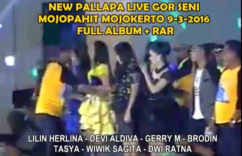 New Pallapa Live GOR Mojokerto 9 Maret 2016 Full Album + RAR