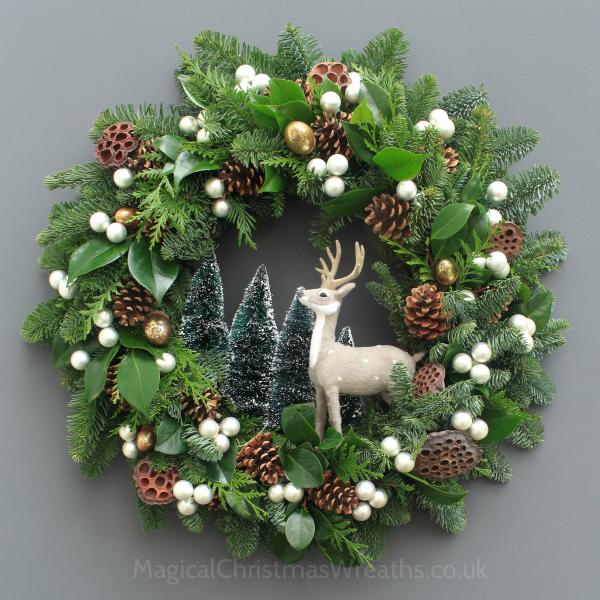 The magical christmas wreath company go wild for Beautiful christmas wreaths