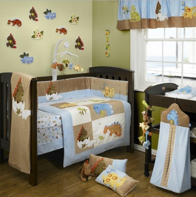 decorar habitacion bebe con gotele