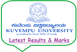 Kuvempu University Results Nov Dec 2019