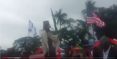 [VIDEO]: Nnamdi Kanu storms Aba, says he will not rest until Biafra is restored
