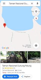 Lokasi Bukit Peramas di Taman Nasional Gunung Palung
