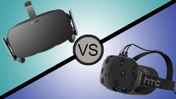Virtual reality devices: HTC Vive vs Oculus Rift