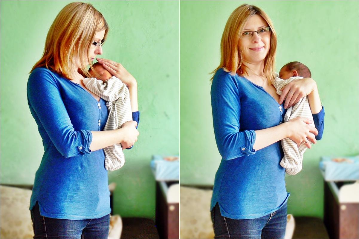 5 dni po porodzie