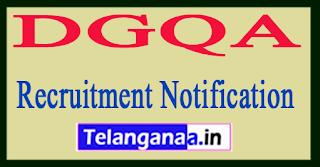 DGQA Recruitment Notification 2017