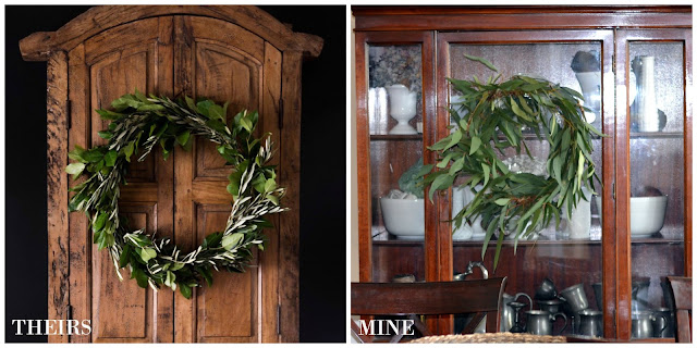 Spring greenery wreath fail