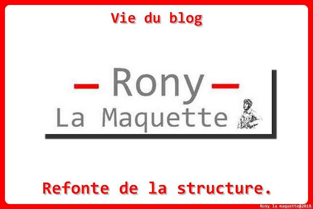 Vie du blog, refonte de la structure.