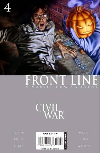 Civil War: Front Line #4 PDF