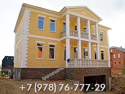 Строительство домов в Крыму цены