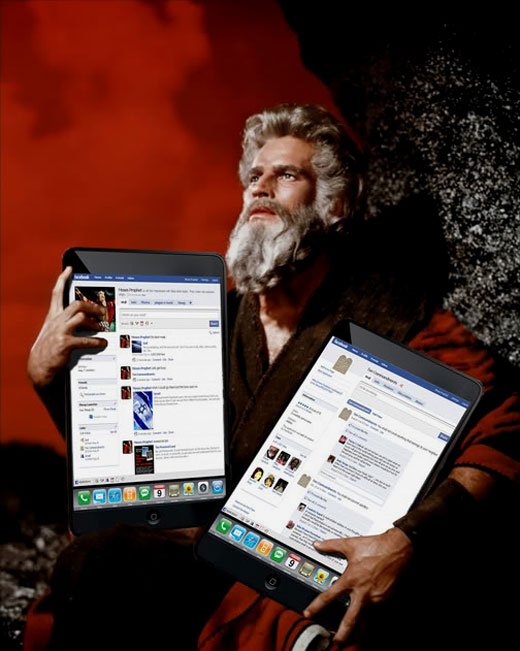 Moses with iPads
