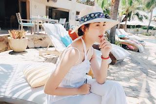 Gái xinh facebook hot girl Hà Lade