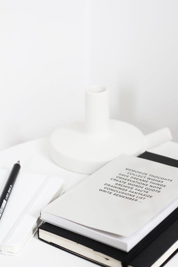 designerski notatnik