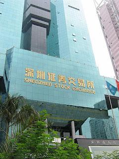 Shenzhen-de-de-la-bolsa-china