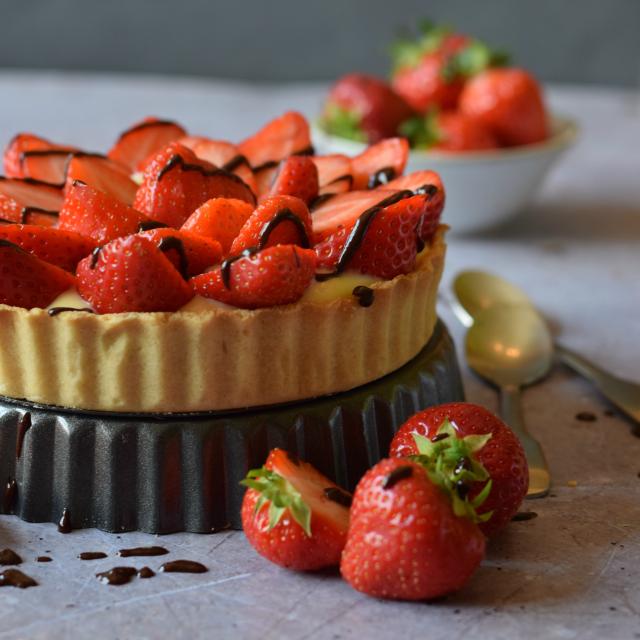 Homemade Strawberry Tart recipe