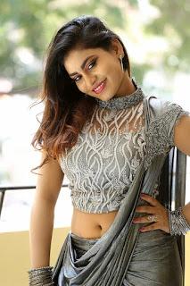 Priyanka Augustin Hot Navel Show Photos
